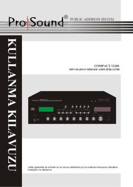 PROSOUND COMPACT 1210S