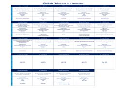 BÜMED MEÇ Okulları  Aralık 2015   Yemek Listesi