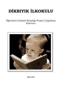 Öğretmen Gelişim Kitaplığı Projemiz