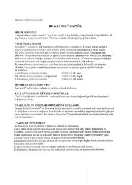 ROWACHOL ® KAPSUL