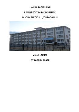2015-2019 Stratejik Planımız - Bucuk İlkokulu