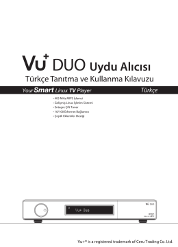 Türkçe - VU Plus