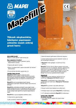 Mapefill E