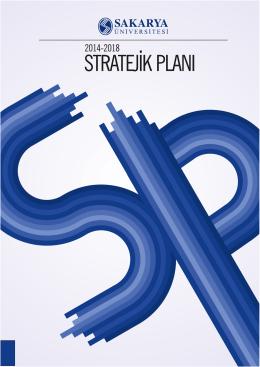 Sakarya Üniversitesi 2014-2018 Stratejik Planı