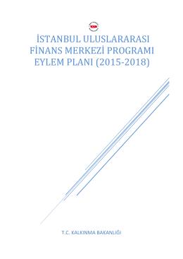 istanbul uluslararası finans merkezi programı eylem planı (2015