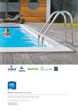 MK Havuz Kataloğu - Havuz ozon, havuz tuz, havuz klor sistemleri