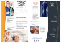 dorn metodu terapi teknikler eğitim programı