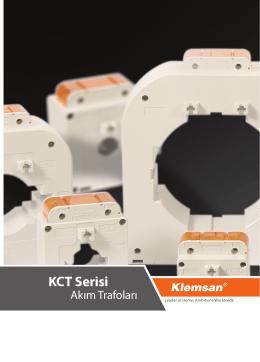 KCT Serisi Akım Trafoları