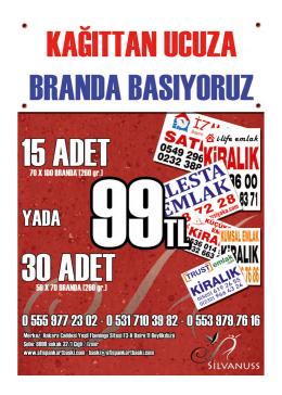 dijital baskı afiş pankart kampanyası