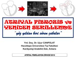 Dr. Uğur CANPOLAT - 5. Atriyal Fibrilasyon Zirvesi