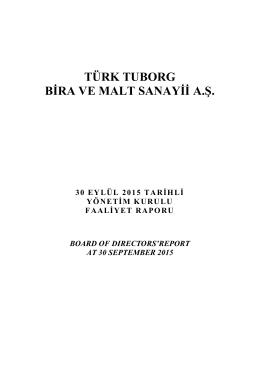 30.09.2015 Faaliyet Raporu
