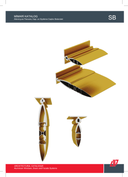sb güneş kırıcı - AKPA Alüminyum