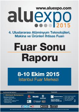 Aluexpo 2015 Fuar Sonu Raporu