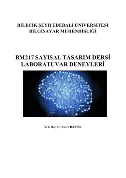 bm217 sayısal tasarım dersi laboratuvar deneyleri