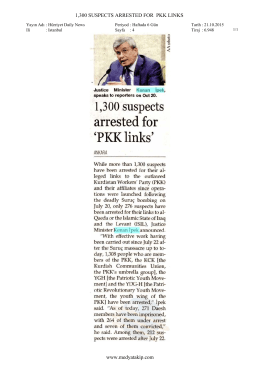 `PKK links` - 21.10.2015