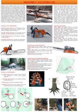 Ormancılıkta Mekanizasyon Final Ders Notları