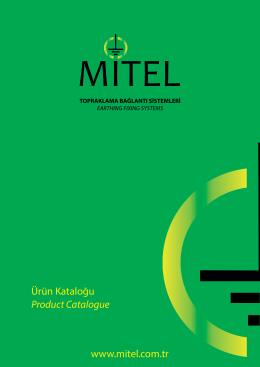 Ürünlerimiz - Mitel Metal