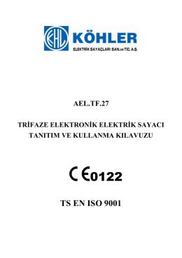 AEL TF 27 Kullanım Kulavuzu