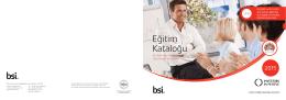 BSI 2015 Eğitim Kataloğu