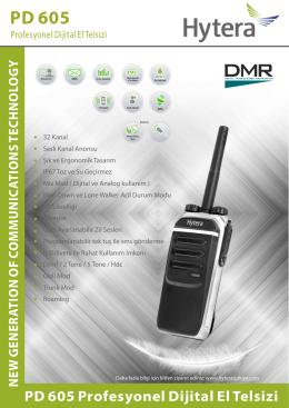 PD 605 - egetelsiz.com.tr