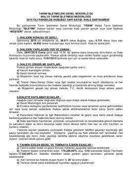 şartname-pdf - Kırşehir Ticaret ve Sanayi Odası
