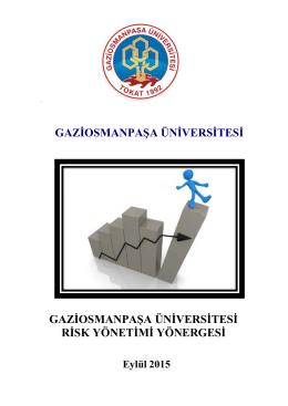 gaziosmanpaşa üniversitesi risk yönetimi yönergesi
