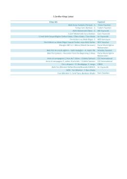 5.Sınıflar Kitap Listesi Fen Bilimleri 5. Sınıf Soru Bankası Kitabı Esen