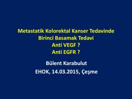 Anti EGFR - EHOK 2015