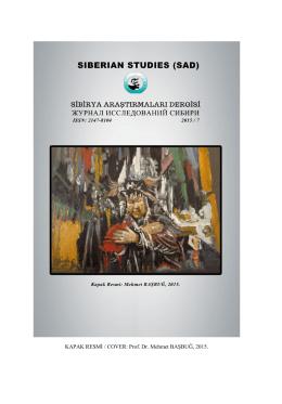 Tam Metin - sibirya araştırmaları dergisi