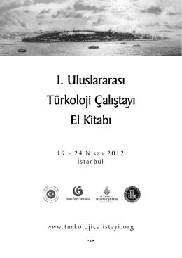 I. Uluslararası Türkoloji Çalıştayı El Kitabı