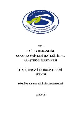 Fizik Tedavi Kliniði - Sakarya Eğitim ve Araştırma Hastanesi