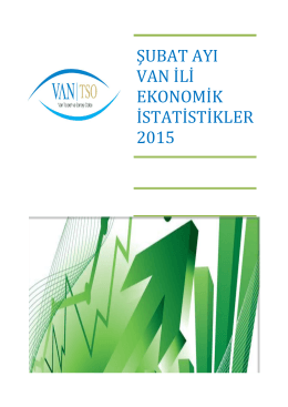 şubat - Van Ticaret ve Sanayi Odası