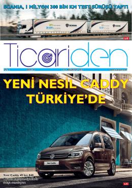yeni nesil caddy türkiye`de - ticariden,ticari araç,kampanya,lansman