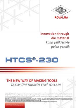 HTCS® 230 Plastik Takım Çeliği