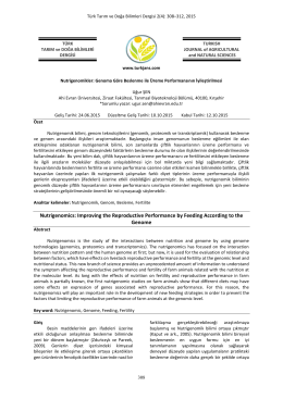 Read Article 308-312 - Turkish Journal of Agricultural and Natural