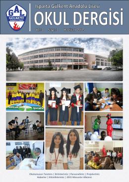 2015 Sayı - Gülkent Anadolu Lisesi