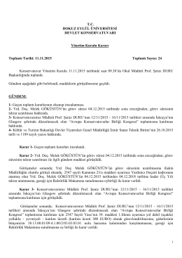 Y.K.Karar 2 - Dokuz Eylül Üniversitesi