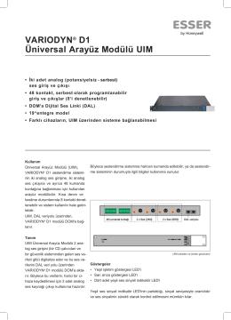 Katalog - FNV Elektronik