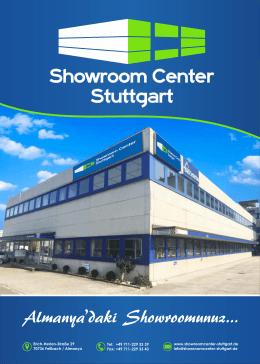 Almanya`daki Showroomunuz