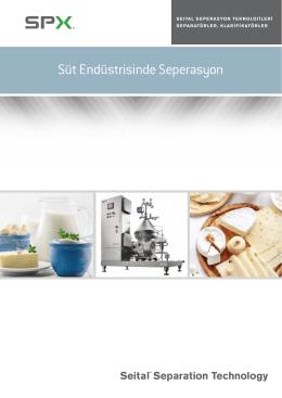 Süt Endüstrisinde Seperasyon