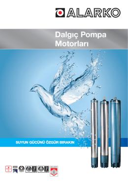 Dalgıç Pompa Motorları