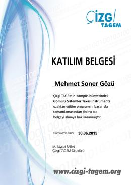 Mehmet Soner Gözü