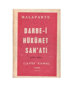 Darbe-i Hükümet Sanatı - Curzio Malaparte