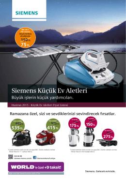 Siemens Küçük Ev Aletleri