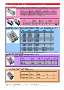 POWER BOX SSR - Doğuş Otomasyon Elektro Market