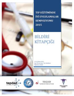 Tıp Eğitiminde İyi Uygulamalar Sempozyumu 2015