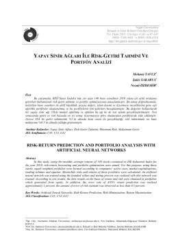 Bu PDF dosyasını indir - Niğde Üniversitesi İktisadi ve İdari Bilimler