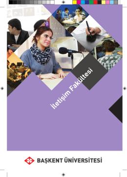 İletişim Fakültesi - Başkent Üniversitesi Adaylara Bilgi