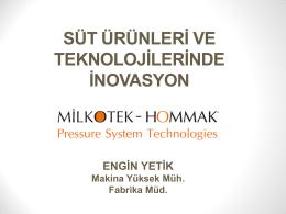 Teknoloji ile Üretilen Süt Ürünleri