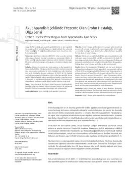 Tam Metin  - İstanbul Tıp Dergisi